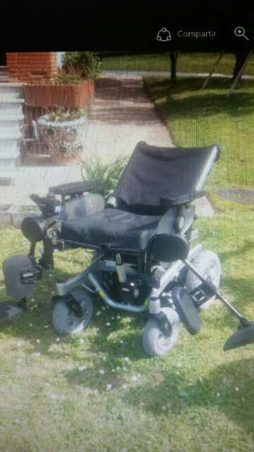 Imagen silla de ruedas electrica