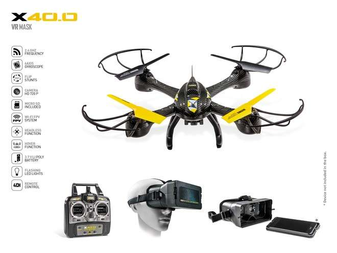 Imagen Ultra Drone x40.0 VR MARSK
