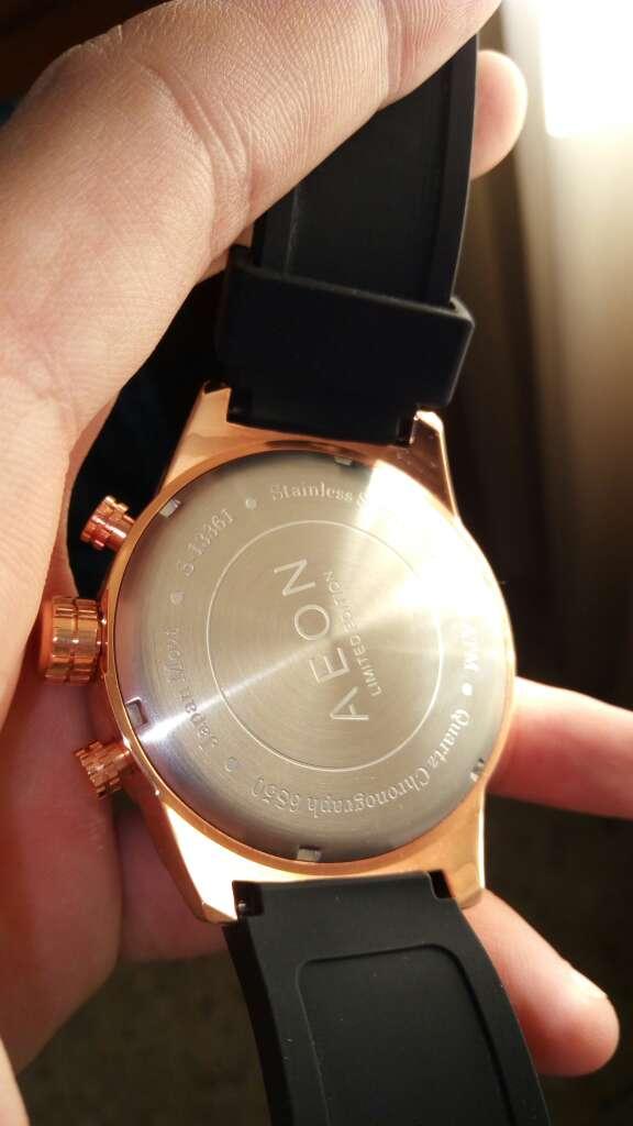 Imagen producto Reloj cronógrafo AEON original  3