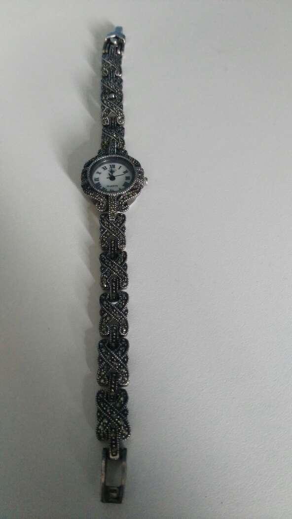 Imagen reloj de plata
