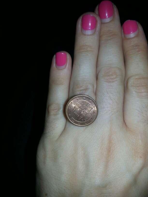 Imagen Anillo de una moneda