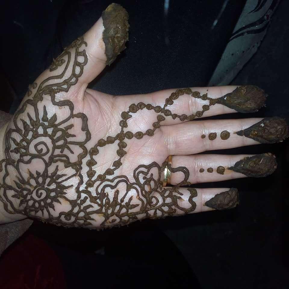Imagen henna y organización