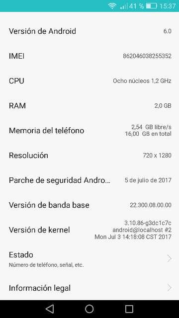 Imagen producto Oferta, Huawei p8 lite. ES LIBRE. 4