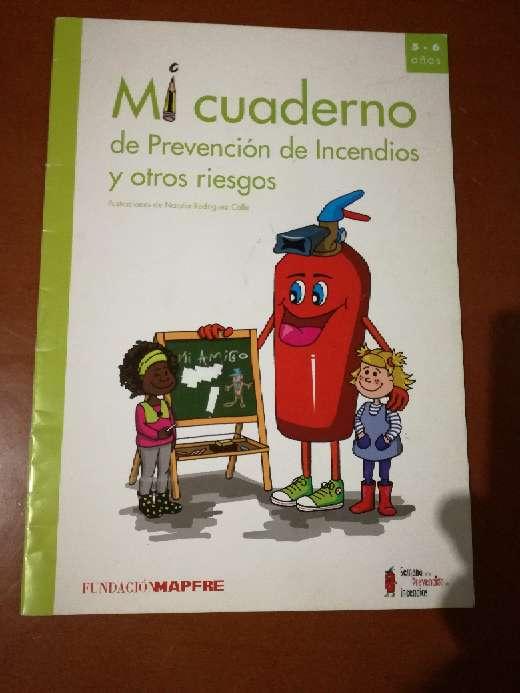 Imagen Mi cuaderno de prevención...