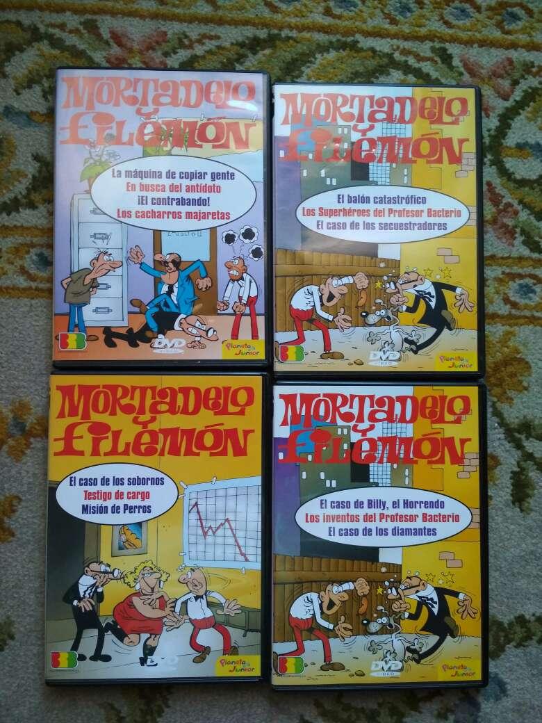 Imagen 4 DVDs de Mortadelo y Filemón por 5 €