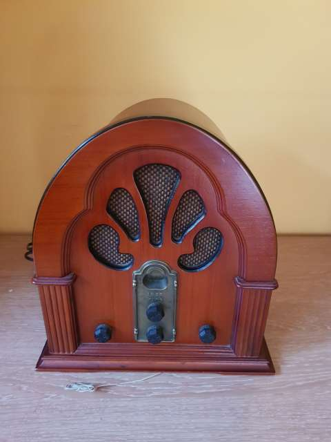 Imagen radio tipo vintage