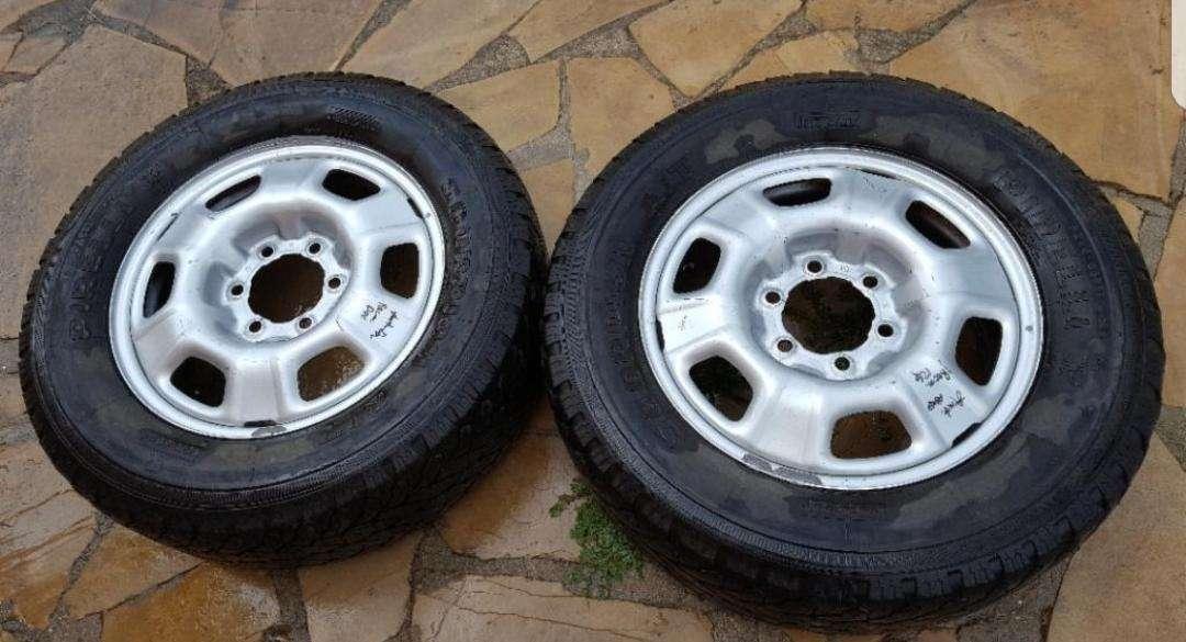 Imagen ruedas y llantas de 17