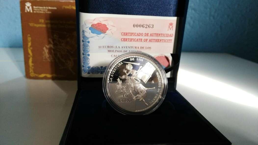 Imagen producto Moneda de plata 10€ 2