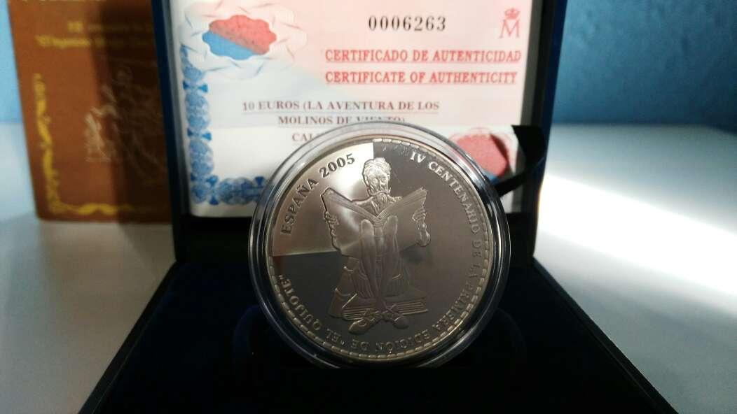 Imagen moneda de plata 10€