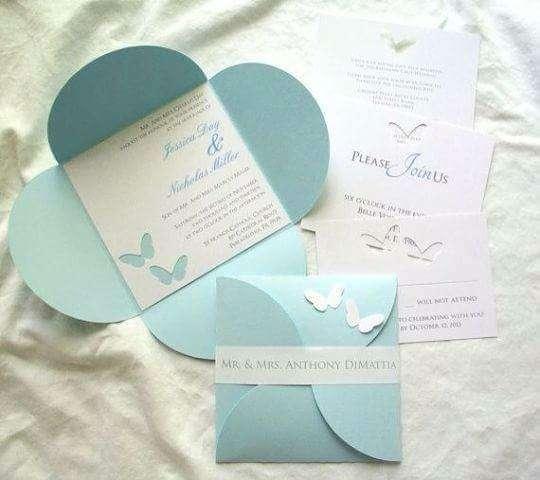 Imagen producto Tarjetas de invitaciones de boda 6