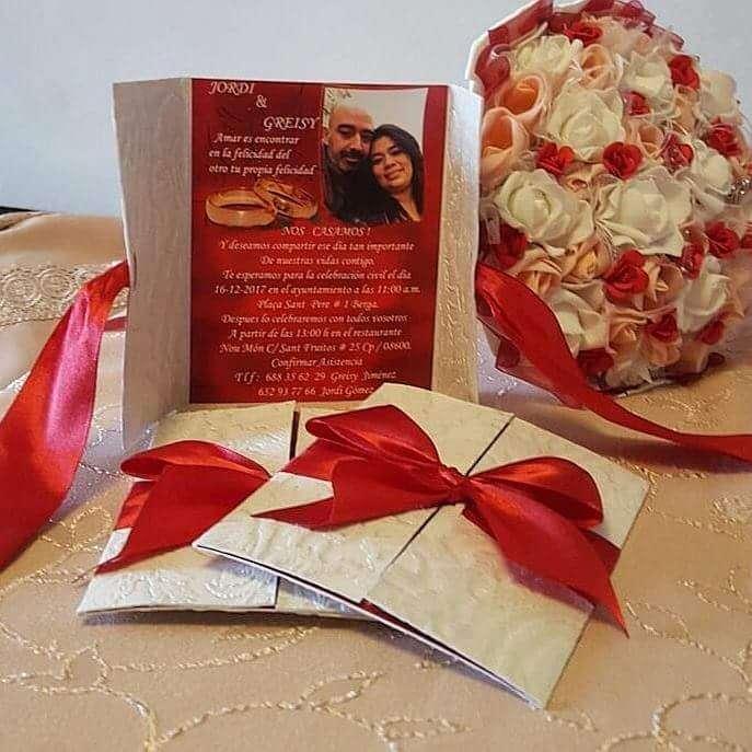 Imagen producto Tarjetas de invitaciones de boda 5