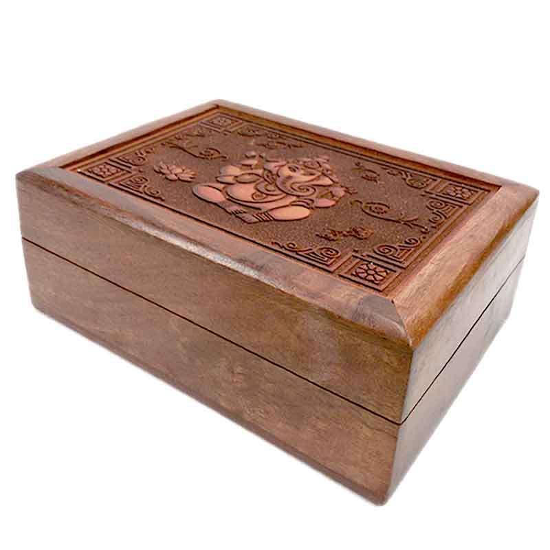Imagen Caja con grabado Ganesh