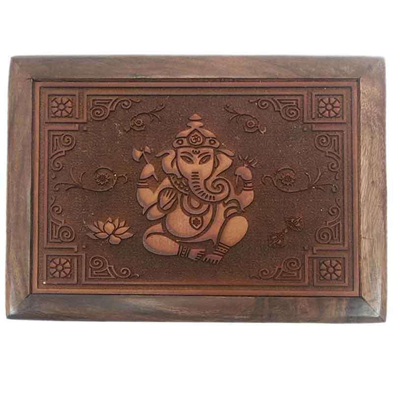 Imagen producto Caja con grabado Ganesh 4