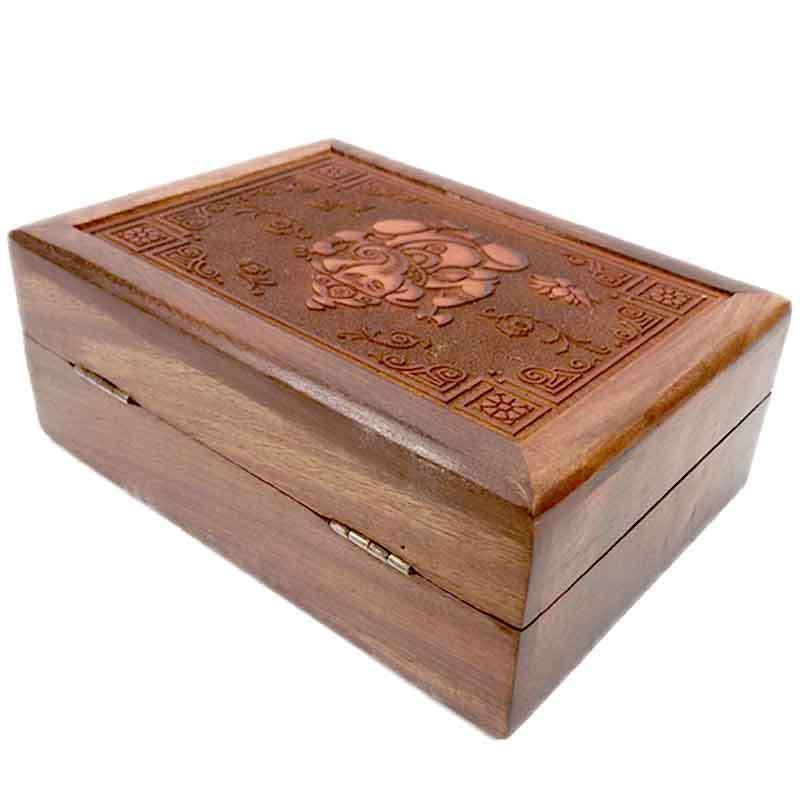 Imagen producto Caja con grabado Ganesh 5