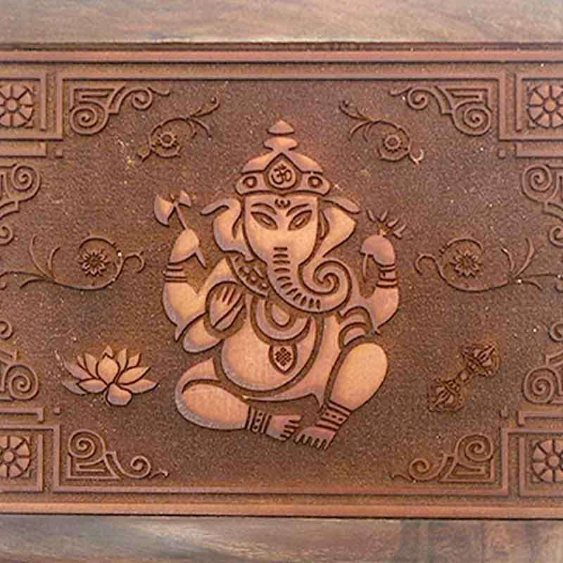 Imagen producto Caja con grabado Ganesh 2