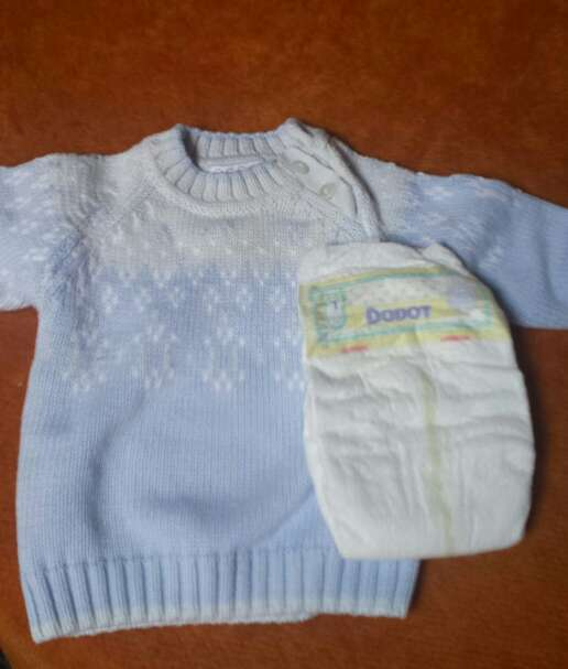 Imagen producto Jersey bebe y pañal 2