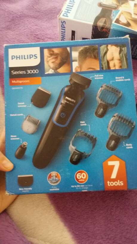 Imagen philips series 3000 multigroom