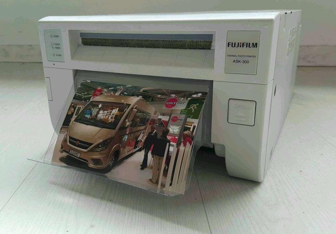 Imagen producto Impresora Fuji ASK 300 Foto Profesional  4