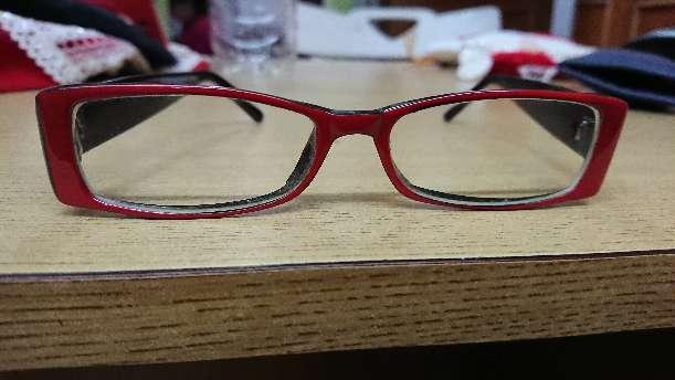 Imagen Lentes oftalmológicos rojos