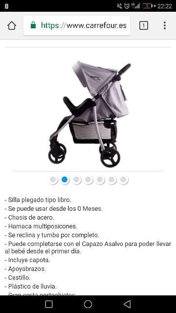 Imagen producto Silla de paseo 4