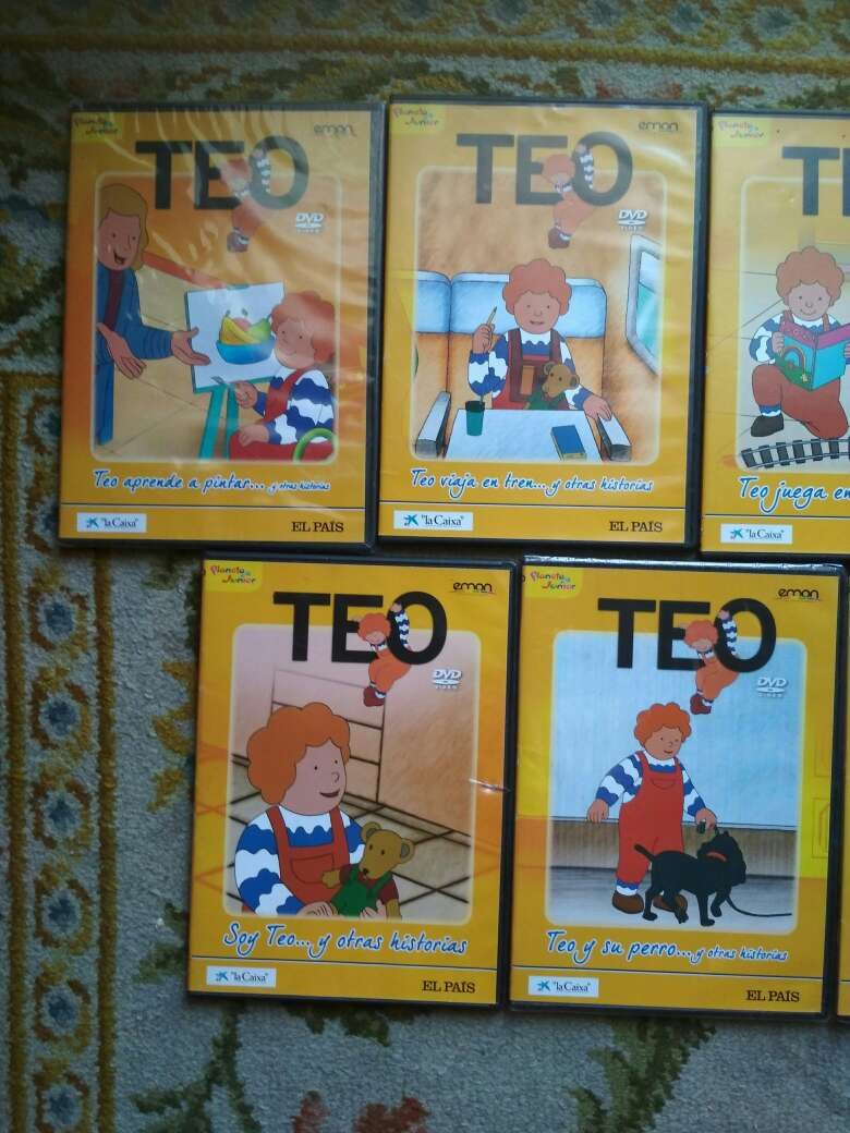 Imagen producto TEO, 9 DVDs 2