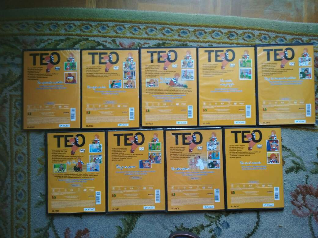 Imagen producto TEO, 9 DVDs 4