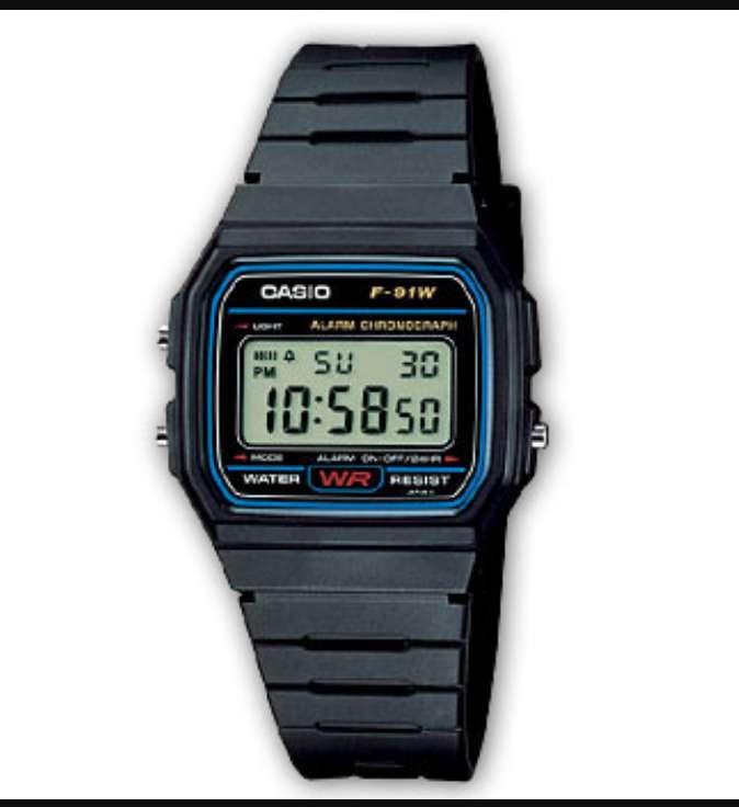 Imagen Reloj Casio F-91W