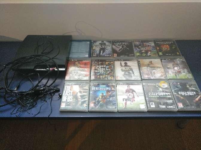 Imagen producto PS3+mando+auriculares+15 juegos 2