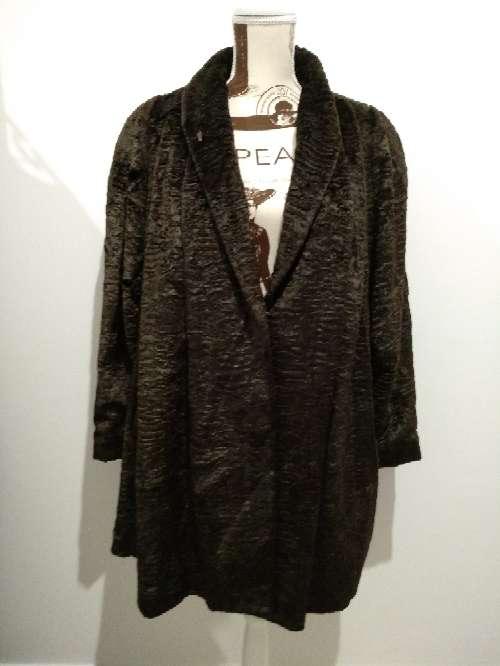 Imagen chaquetón marrón talla 42
