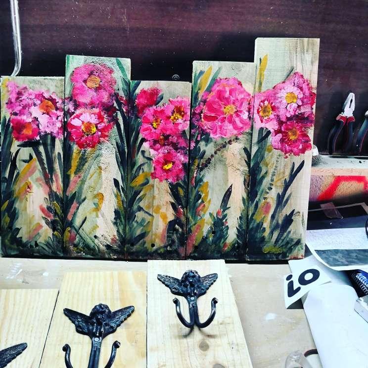 Imagen producto Todo tipo de muebles de palet madera y decoración  4