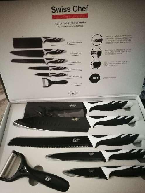 Imagen set cuchillos