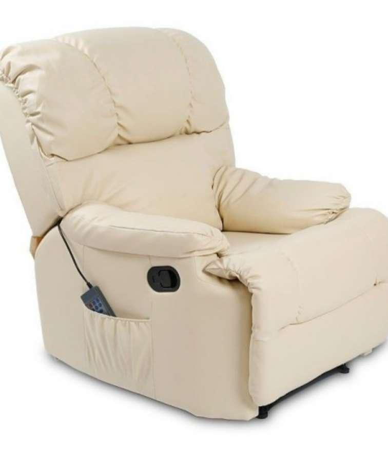 Imagen sillon masaje y calor lumbar