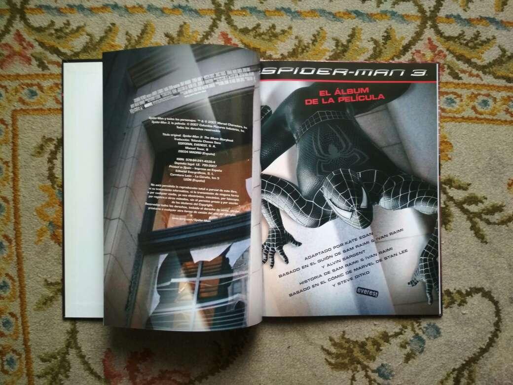 Imagen producto Libro Spiderman 3 álbum de la película  2
