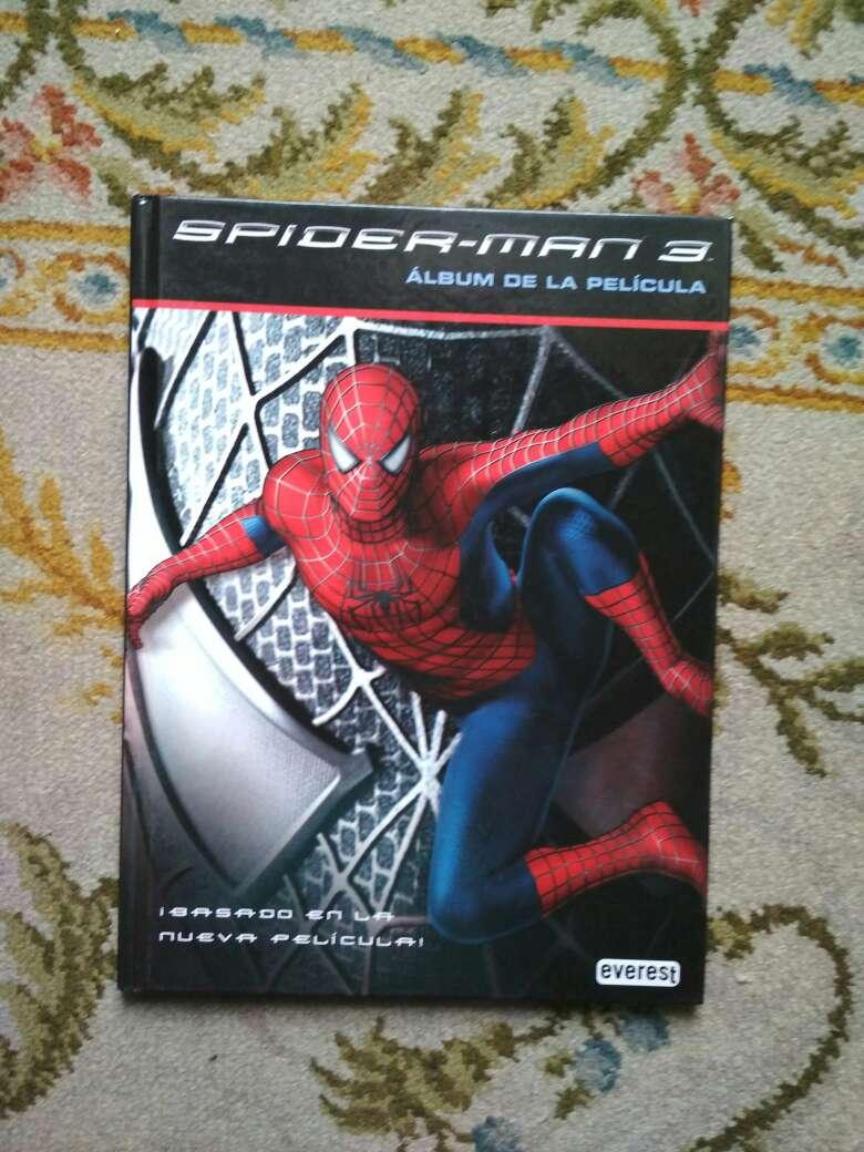 Imagen libro Spiderman 3 álbum de la película