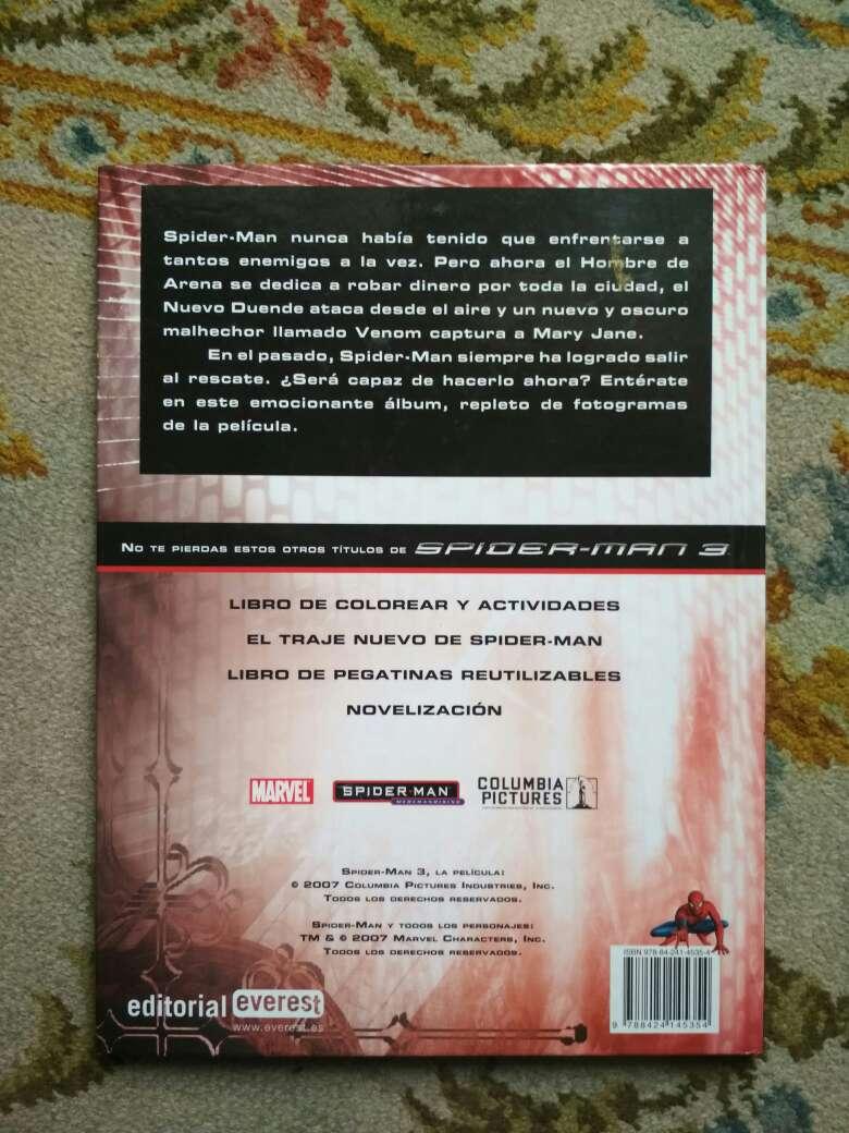 Imagen producto Libro Spiderman 3 álbum de la película  6