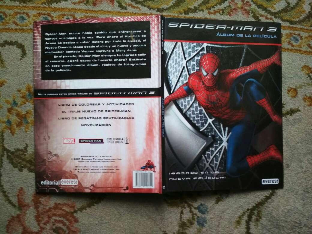 Imagen producto Libro Spiderman 3 álbum de la película  5