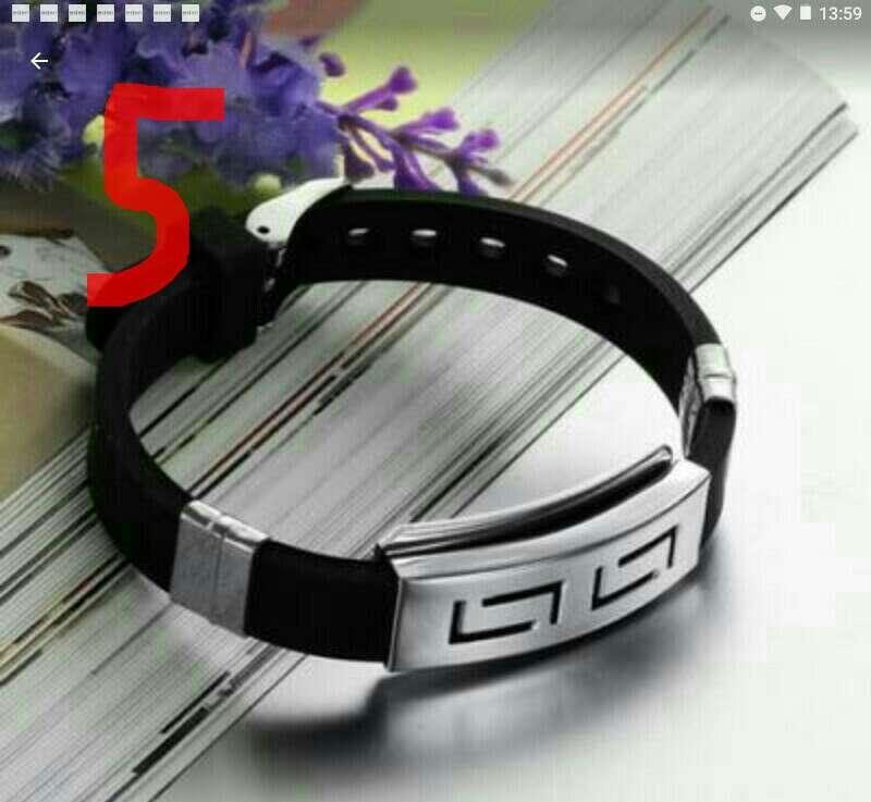 Imagen pulsera diseño unisex