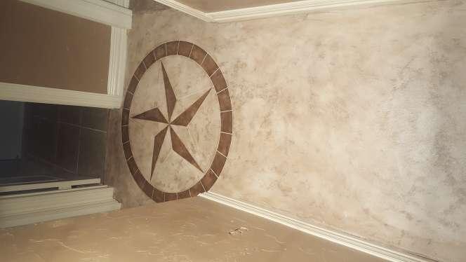 Imagen producto Decoración de concreto todo sobre concreto testura estampado  2
