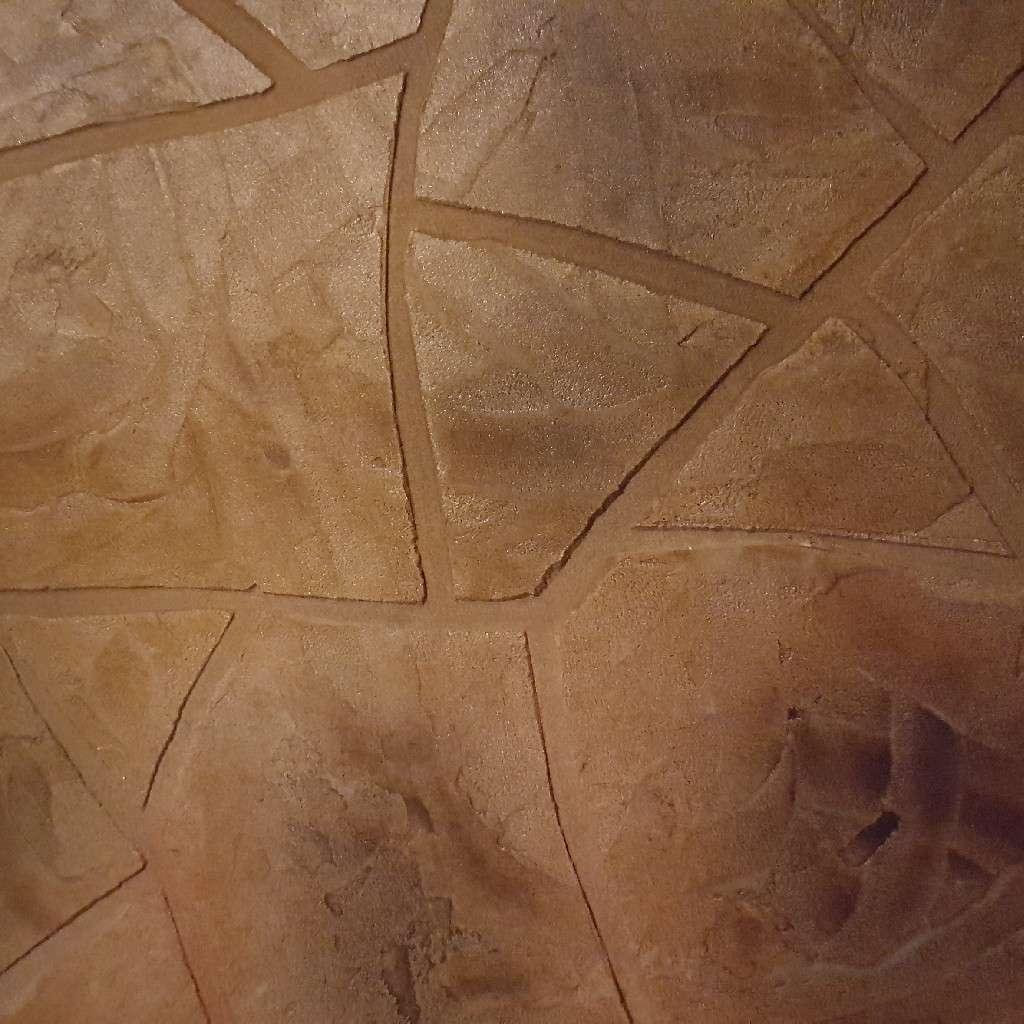 Imagen producto Decoración de concreto todo sobre concreto testura estampado  4