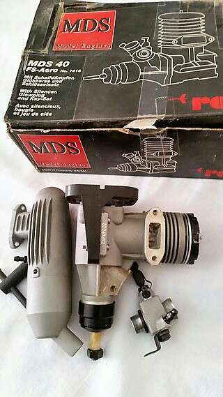 Imagen Motor MDS 40 FS Aereo 6,47 0,58 kw 440 g