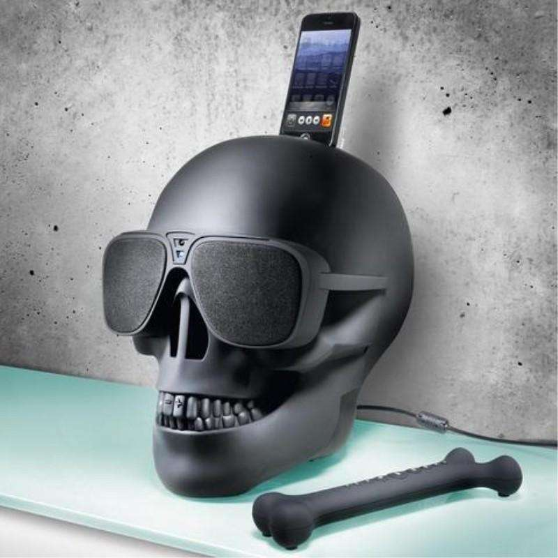 Imagen Altavoz Bluetooth Calavera