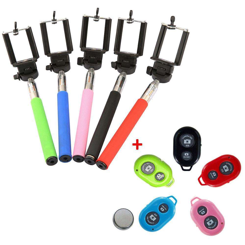 Imagen Palo selfie en varios colores + mando a distancia