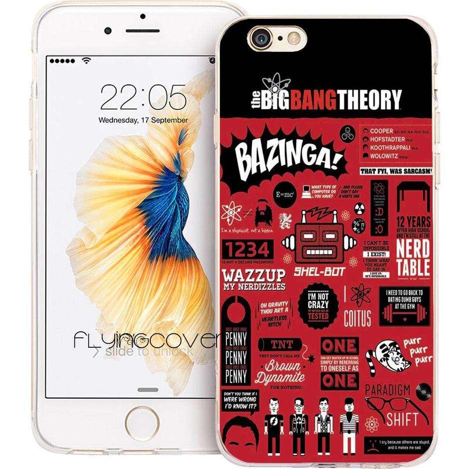 Imagen Carcasa de silicona Big Bang Theory