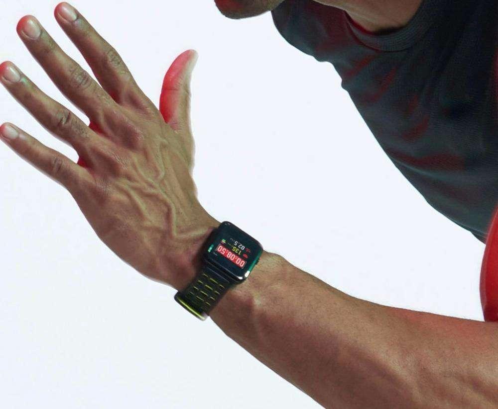 Imagen producto Smartwatch con GPS A-GPS sumergible 50m 5