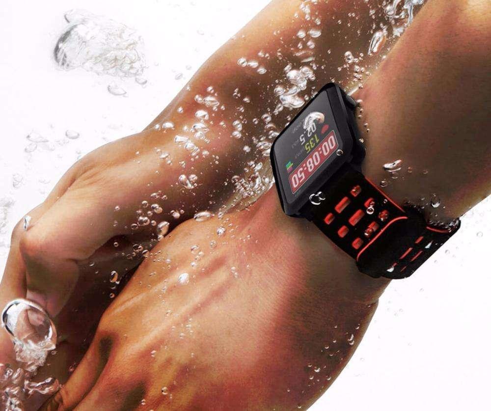 Imagen producto Smartwatch con GPS A-GPS sumergible 50m 4