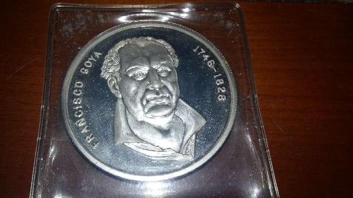 Imagen producto Moneda de plata de Goya  1