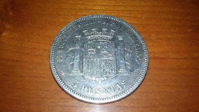 Imagen Moneda de plata antigua