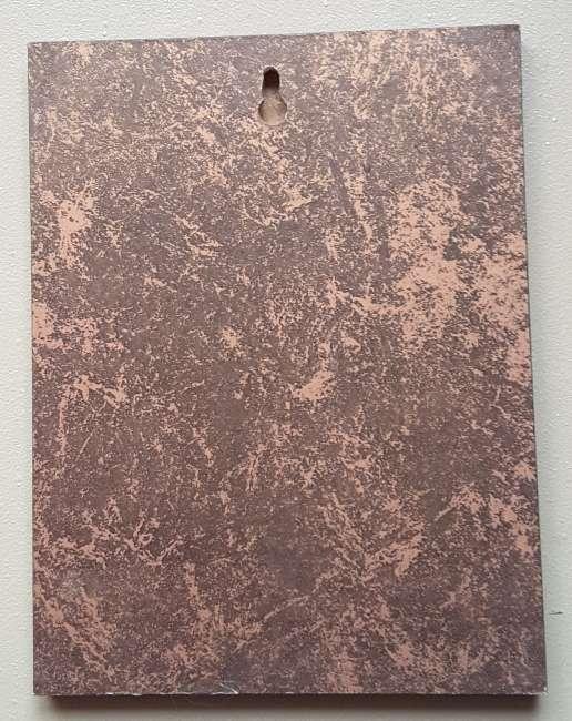 Imagen producto Cuadro estampación sobre madera  2