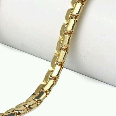 Imagen producto Collar de color oro de calidad. 2