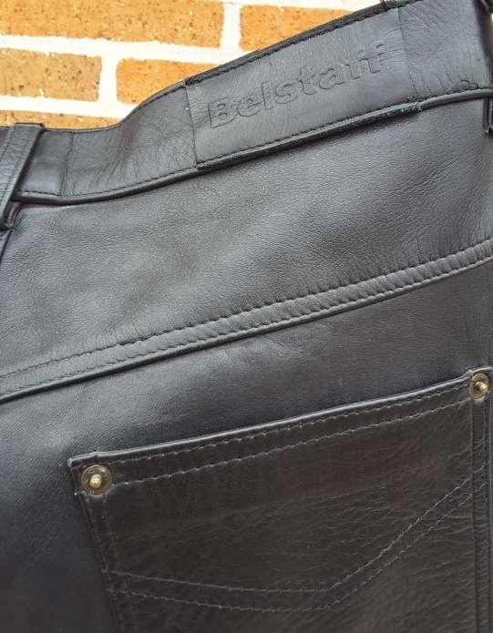 Imagen producto Pantalón de piel Belstaff  3